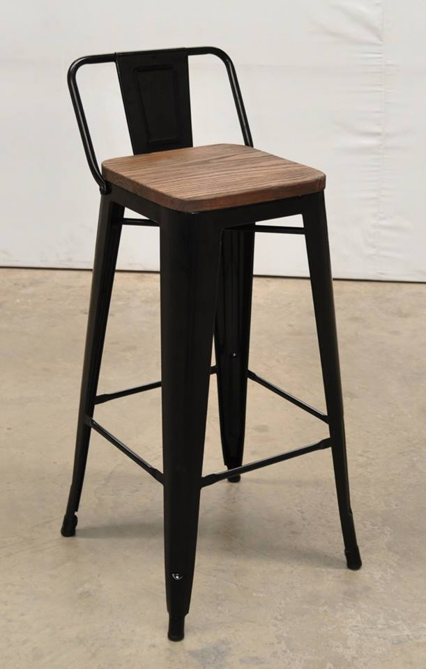 เก้าอี้บาร์tolix Tabouret Stool With Short Back